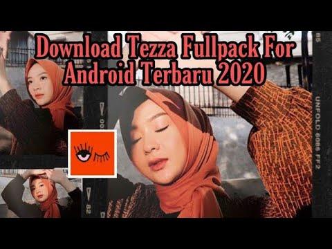 Aplikasi Tezza Fullpack Android Gratis 2020 - Edit Foto Brown Aestetic - Cara Download Rezza 2020