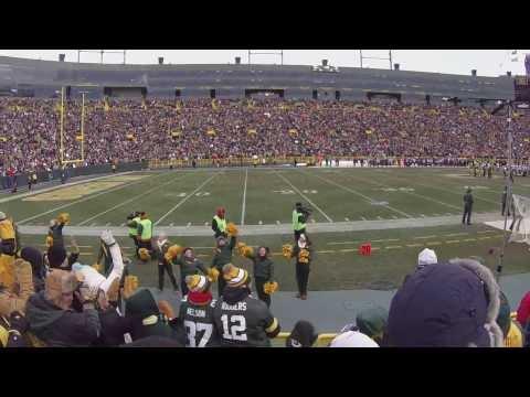 "GoPro at Lambeau Field - ""Jump Around"" Green Bay Packers vs. Minnesota Vikings:"