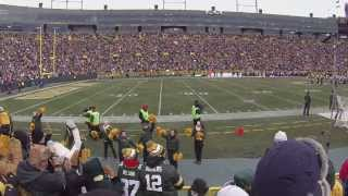 "GoPro at Lambeau Field - ""Jump Around"" Green Bay Packers vs. Minnesota Vikings:"