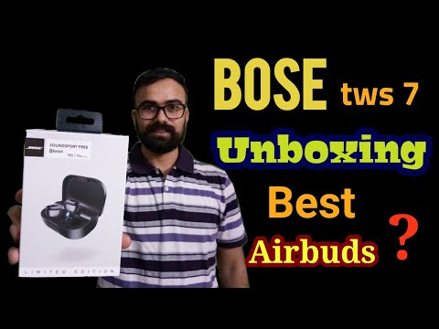Bose SoundSports Free TWS earbuds Unboxing & review