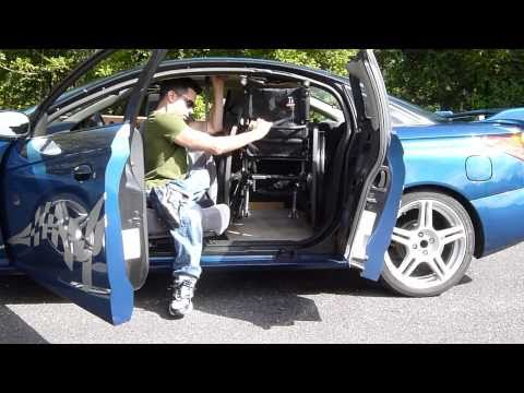 2001 Saturn SC2 Wheelchair Car Transfer (Wheelchair user) (Paraplegic)