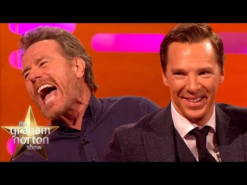 Benedict Cumberbatch and Bryan Cranston Both Like to Marry People  The Graham Norton
