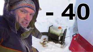 КИТАЙСКА ВЕБАСТА в  -40 УМЕРЛА! или НЕТ?! Тестирую работу, расход, эффективность в морозяку