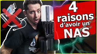NAS Synology : 4 raisons d'acheter un NAS ! 😱 Qnap 😎 Asustor Video