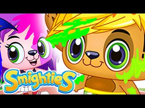 Smighties - Color Run and Theme Song | Funny Cartoon Video | Videos for Kids