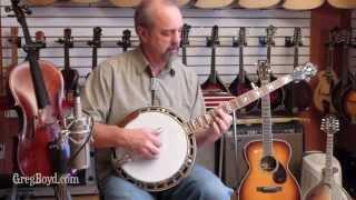 2004 Scorpion Mahogany 5 String Banjo