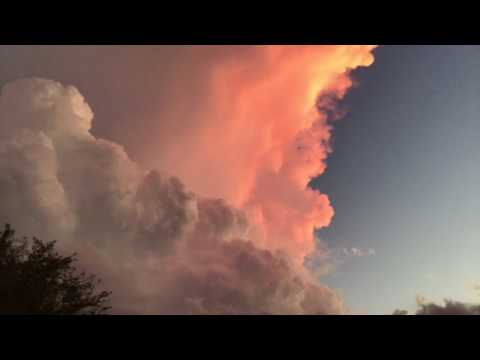 Time lapse storms July 23, 2017 Mahomet IL