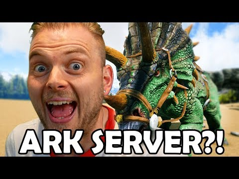 New Adventures + Ark Server!! - Ark Valguero #3