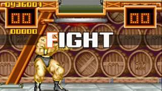 Super Street Fighter II Turbo Revival (GBA)