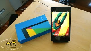 new nexus 7 unboxing first impression 2013