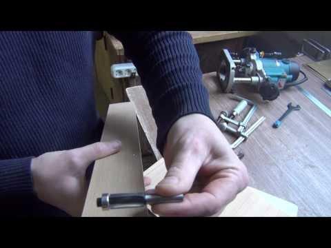видео: Работа ручным фрезером по шаблону