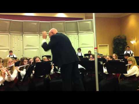 "Fort Clarke Middle School Symphonic Band performing ""La Boutique"""