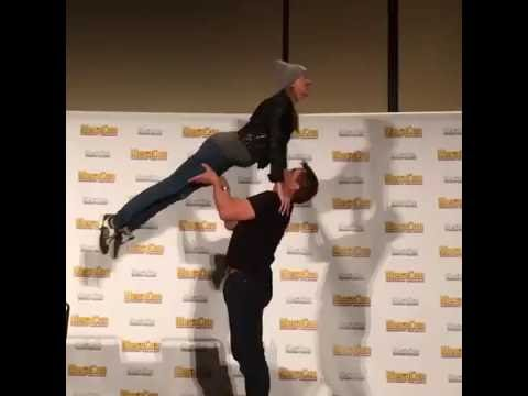 Katie Cassidy & John Barrowman MegaCon 2016