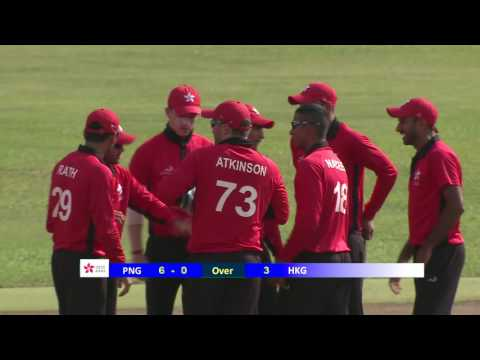 2nd ODI: HKG v PNG (Part 1)