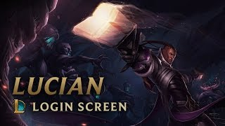 Lucian, the Purifier | Login Screen - League of Legends