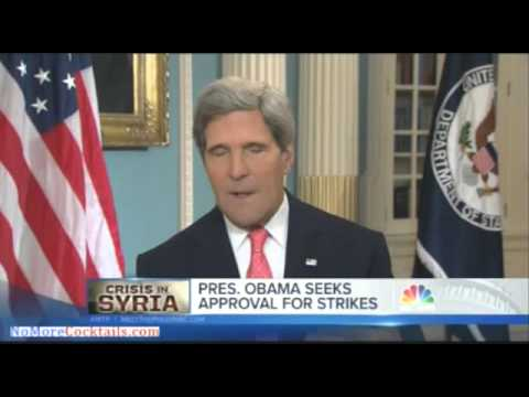 John Kerry confirms Sarin gas was used in Syria