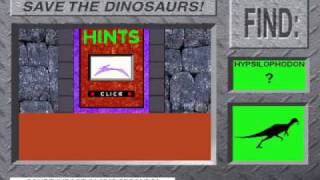 Save The Dinosaurs! from 3-D Dinosaur Adventure MS-DOS/Packard Bell Version Part 2