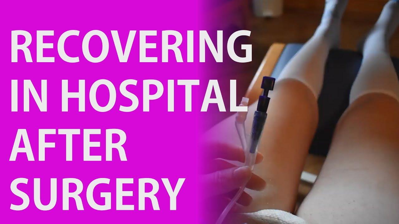 SRS vlog Part 2 - Recovering in Hospital,  a complication and getting emotional - Transgender Vlog