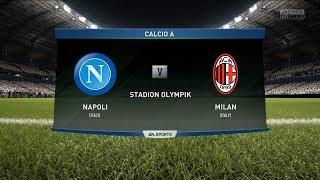 Napoli vs Milan - Calcio A Prediction Big Match in FIFA 18