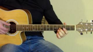 Блюз на гитаре Видеоурок | Acoustic blues lick lesson