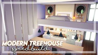 Modern Treehouse SpeedBuild / Adopt me / Adopt me SpeedBuild / Read Description!