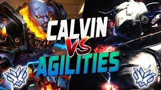 AGILITIES Pro Doomfist VS CALVIN Soldier 76 / McCree / Hanzo! [ OVERWATCH SEASON 11 TOP 500 ]