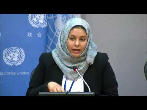 Women activists from the Middle East on the current peace efforts in the region - Press Conference