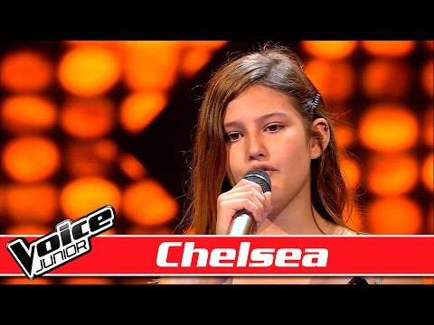 Chelsea synger: Sara Evans – 'A Little Bit Stronger' – Voice Junior / Blinds