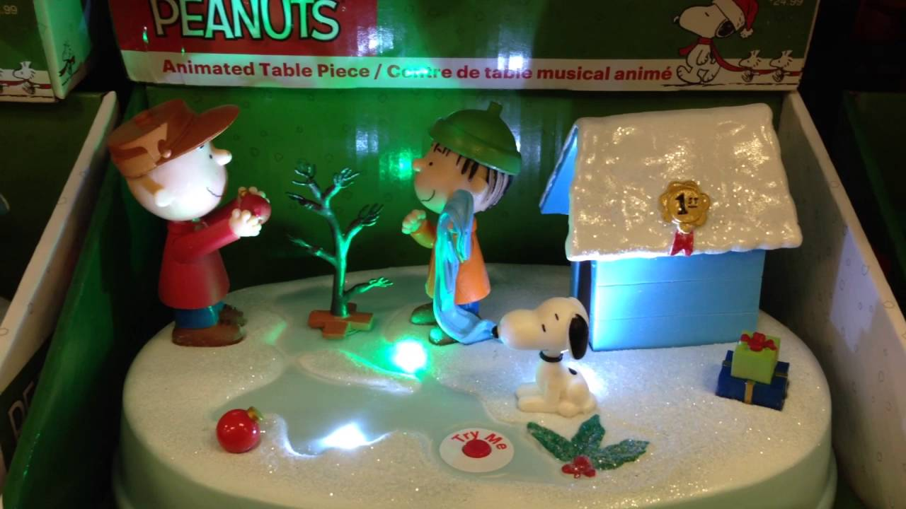 peanuts christmas decoration 2 at cvs charlie brown linus 2015 - Peanuts Christmas Decorations