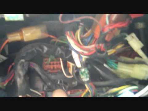honda prelude fuel pump relay wiring diagram prelude under dash view  looking for relay  youtube  prelude under dash view  looking for