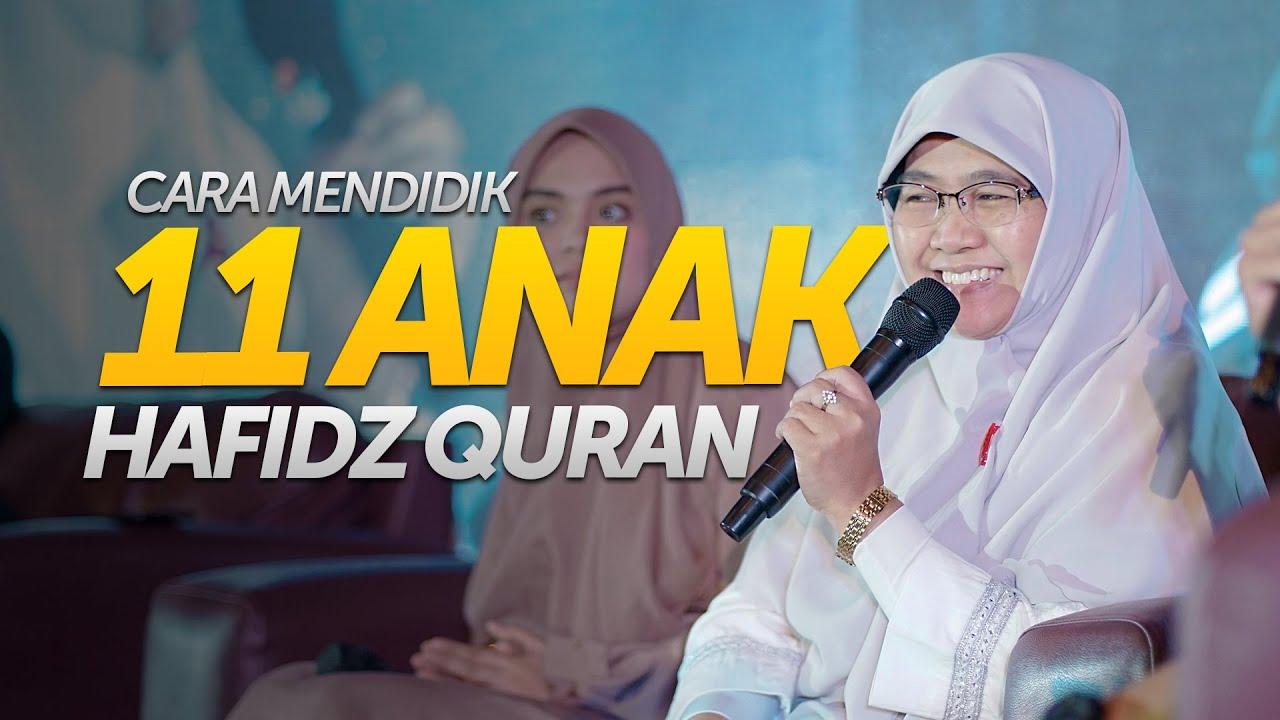 Inilah Cara Bunda Wirianingsih Mendidik 11 Anaknya Menjadi Hafidz Quran Amazingmuharram8 Youtube