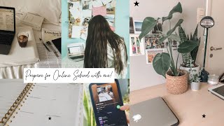 Prepare for online school with me 2020   Gracie Belle