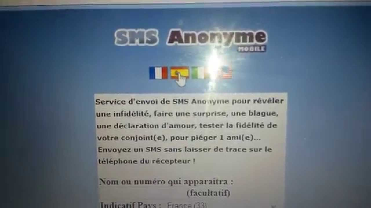 Sms Anonyme Iphone