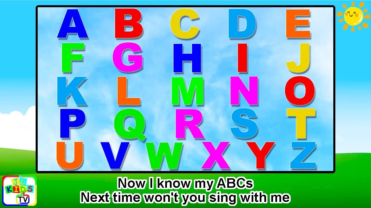 Alphabet Song With Lyrics Kids Songs