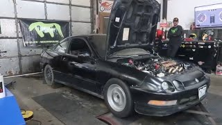 It was only supposed to make 450!! The Nsx fires up!