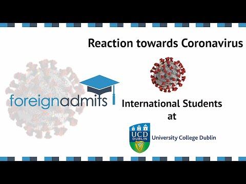 How Coronavirus Will Impact International Student? Ep7 BSc (College Dublin) [ForeignAdmits]