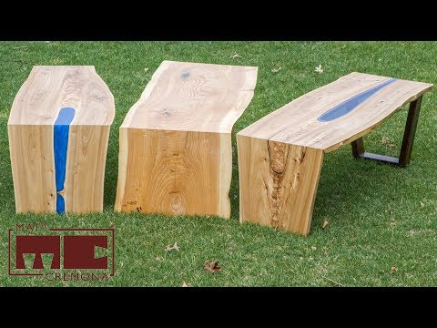 How to Make Waterfall and River Tables