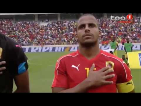 Wilson Gaspar - Angola National Team - centre back/defensive midfield (2018 season)