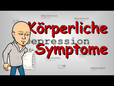 Physische Symptome Von Depressionen   Aufklärung Und Wissenswertes