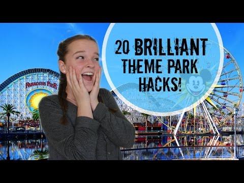 20 Brilliant Theme Park Hacks Everyone Should Know!