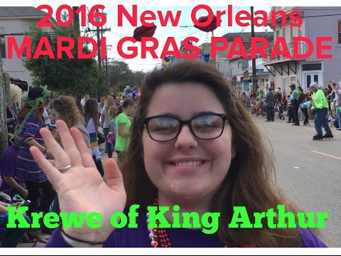 2016 New Orleans Mardi Gras Krewe of King Arthur Parade