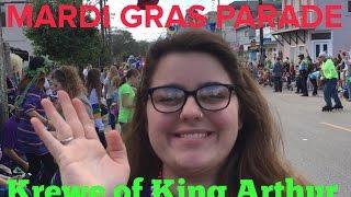 2016 New Orleans Mardi Gras Krewe of King Arthur Parade