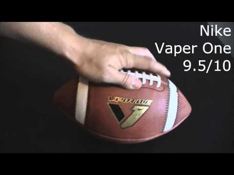 a07cbd7f0a Football Review - Nike Vaper One Official Game ball