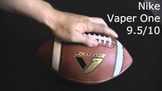 Football Review - Nike Vaper One Official Game ball