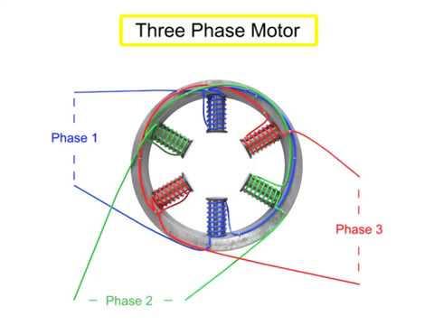 Working principle of AC motors