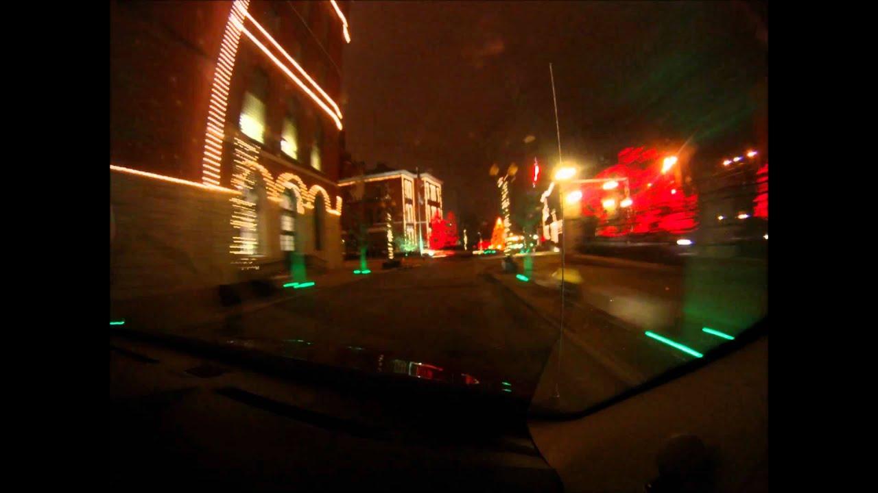 St Louis Drive And Budweiser Christmas Lights YouTube - Budweiser Christmas Lights