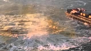 Bay Bridge Implosion in slow motion!