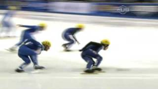 Korea men win second relay - from Universal Sports