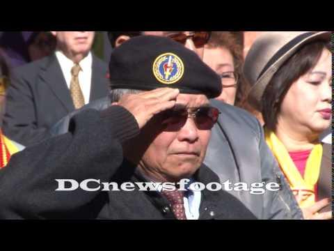 Former ARVN troops celebrate Veterans Day in Virginia