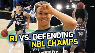 RJ Hampton near DOUBLE-DOUBLE in Battle Against REIGNING NBL CHAMPS! Goes Down To The LAST SHOT! 😨